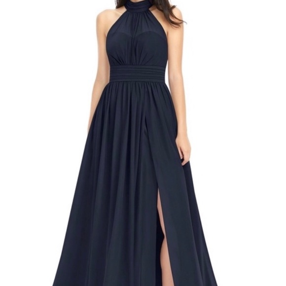 Azazie Dresses & Skirts - Azazie Navy Bridesmaid Dress
